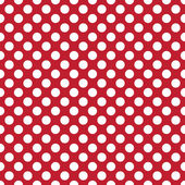 Beautiful Seamless vector white polka dots pattern on dark red back scaled at any size & use for wallpaper pattern web page background surface textures Available in jpeg and eps formats to modify software require such as Adobe Illustrator