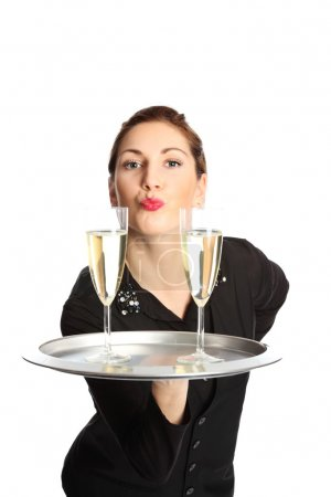 A kiss with your champagne?