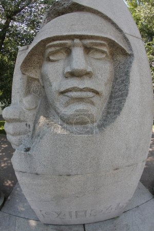 The monument to the war
