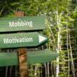 Street Sign the Direction Way to Motivation versus...