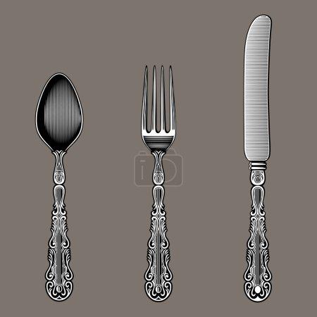 Antique Cutlery.