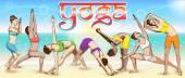 Das Yoga-Banner