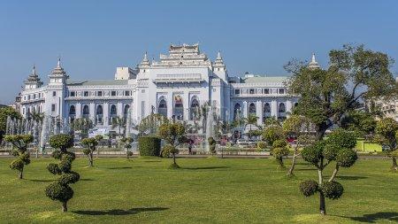 Town hall in Yangon