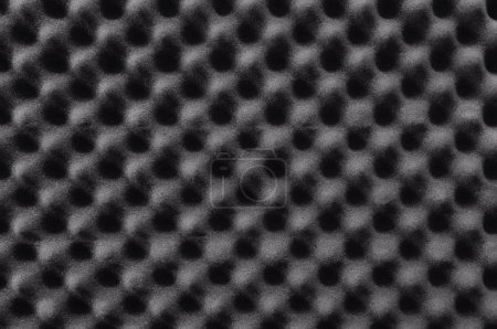 Photo for Closeup background of acoustic foam wall. - Royalty Free Image