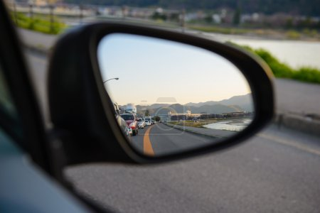 Rear view car mirror