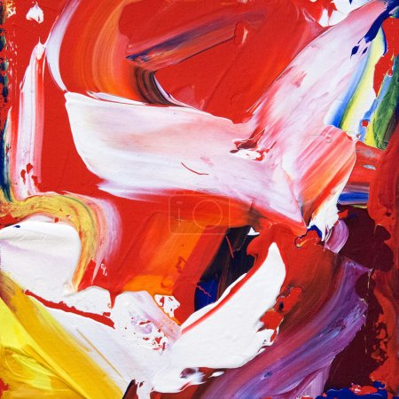 Abstracts strokes of paint on the canvas. Art design background
