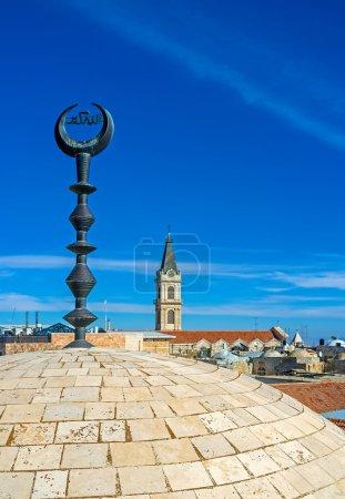Christian and Muslim holy sites of Jerusalem