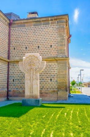 The religious sculpture