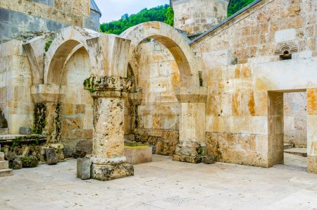 The ruins of gavit