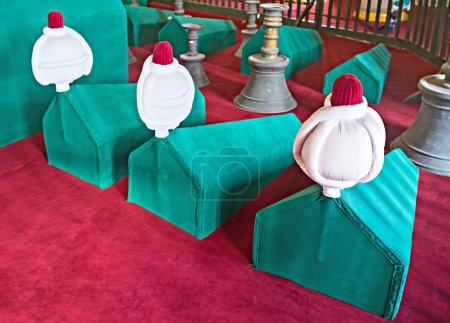 ISTANBUL, TURKEY - JANUARY 13, 2015: The sarcophag...