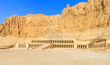 LUXOR, EGYPT - OCTOBER 8, 2014: The monumental fac...