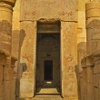 The entrance to the Hatshepsut Temple with the sto...