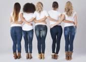 Belle donne multi-etniche