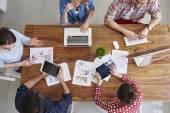Kreativität-Team arbeiten zusammen