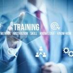 Business mentoring concept, businessman selecting ...