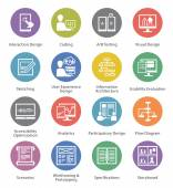 This set contains 16 Web Usability and Accessibility Icons great for presentations web design mobile apps or any type of design projects