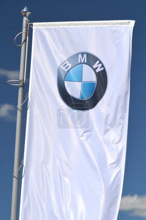 Logo of BMW.