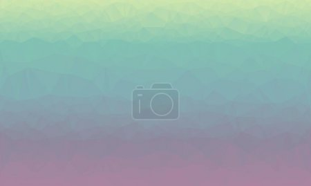 Photo for Minimal multicolored polygonal background in green and purple colors - Royalty Free Image