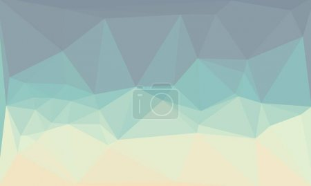 Photo for Creative prismatic background with light blue polygonal pattern - Royalty Free Image