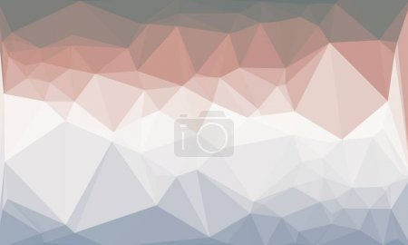 Photo for Colorful geometric background with mosaic design - Royalty Free Image