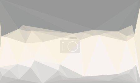 Fond polygonal minimaliste et gris pastel