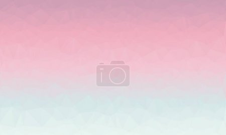 Photo for Abstract polygonal background in light blue and pink colors - Royalty Free Image