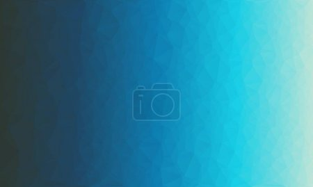 Photo for Abstract polygonal background with blue gradient - Royalty Free Image
