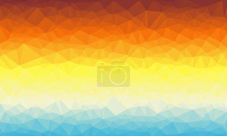 Geometrischer Hintergrund mit Mosaik-Design in hellen Farben