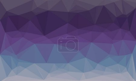 Abstract purple multicolored background with poly pattern
