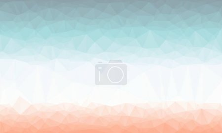 Colorful geometric background with pastel mosaic design