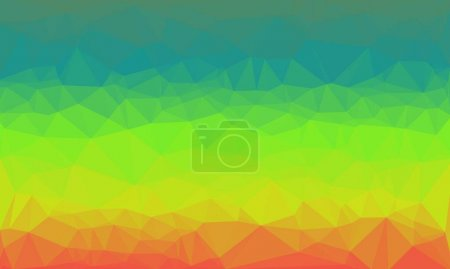 Creative background with polygonal prismatic pattern