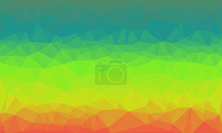 Fondo creativo con patrón prismático poligonal