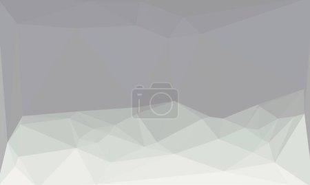 abstrait et gris fond polygonal