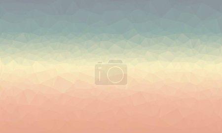 Foto de Mínimo fondo poligonal multicolor - Imagen libre de derechos