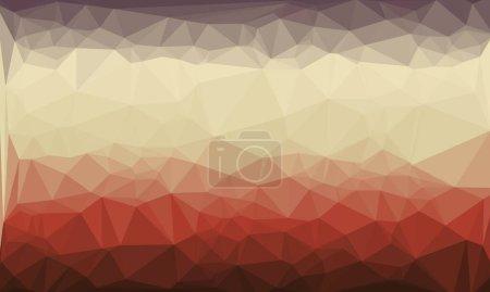 fondo multicolor abstracto con patrón de poli colorido
