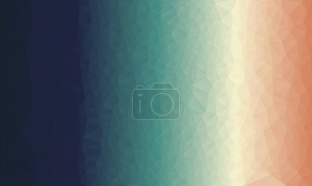 creative prismatic background with blue polygonal pattern