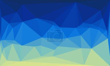 helle abstrakte bunte polygonale Hintergrund