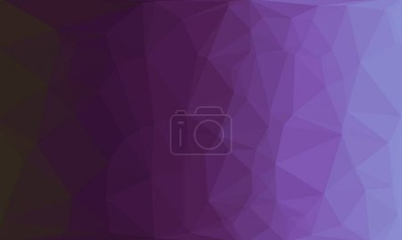 creative purple background with polygonal pattern