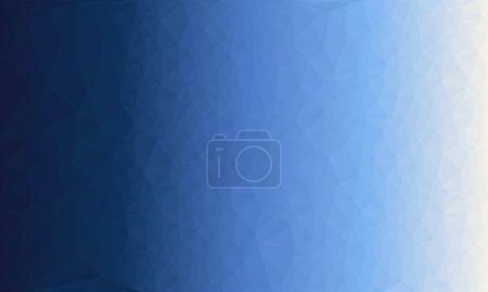 Photo for Abstract blue gradient background with poly pattern - Royalty Free Image