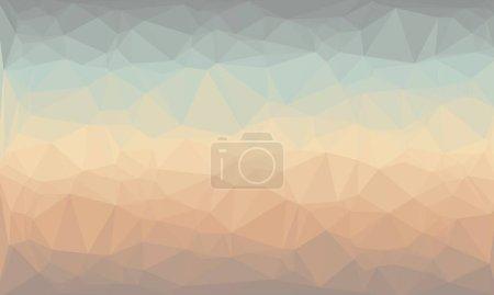 fond prismatique créatif avec motif polygonal