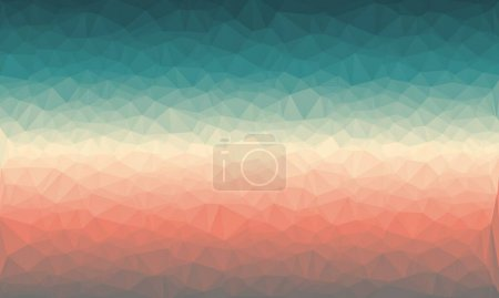 Minimal and pastel gradient with polygonal background