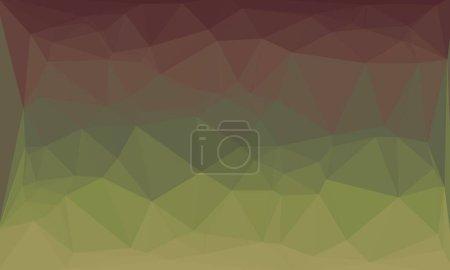 mínimo fondo poligonal multicolor