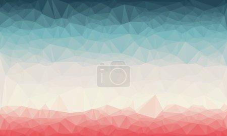 Fond géométrique abstrait avec motif poly créatif