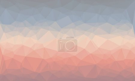 Photo for Creative prismatic background in light blue and red colors - Royalty Free Image