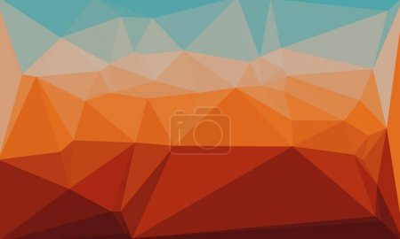 mehrfarbiger polygonaler und prismatischer Hintergrund