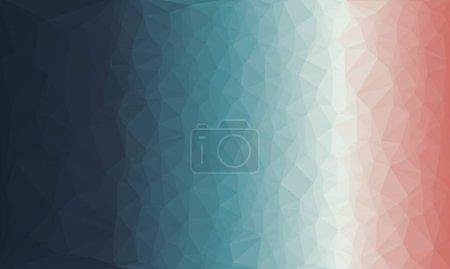 abstrakter mehrfarbiger Hintergrund mit Poly-Muster