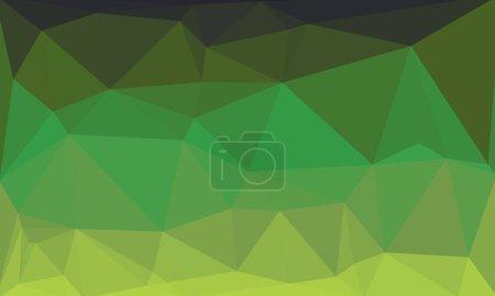 Abstrakter mehrfarbiger Hintergrund mit grünem Muster