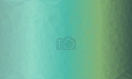 Creative prismatic blue gradient background with polygonal pattern