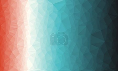 Photo pour Fond polygonal multicolore minimal - image libre de droit