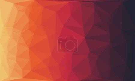 Photo pour Fond géométrique abstrait avec motif poly - image libre de droit